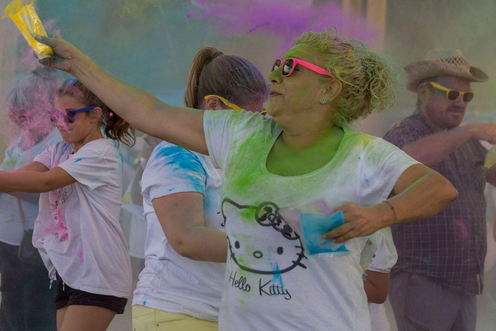 Festa Holly per acabar la Festa Major de Les Planes. FOTO: Paula Galván