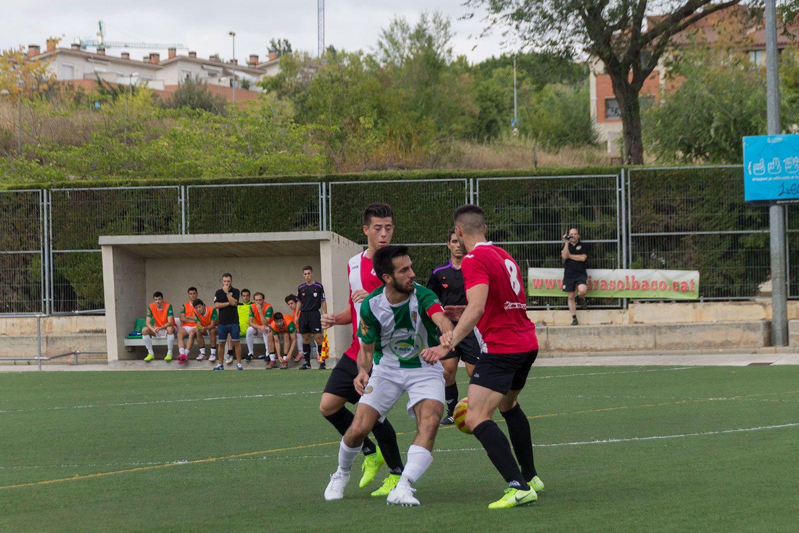 Partit de lliga Valldoreix FC-CD Almeda. FOTO: Paula Galván