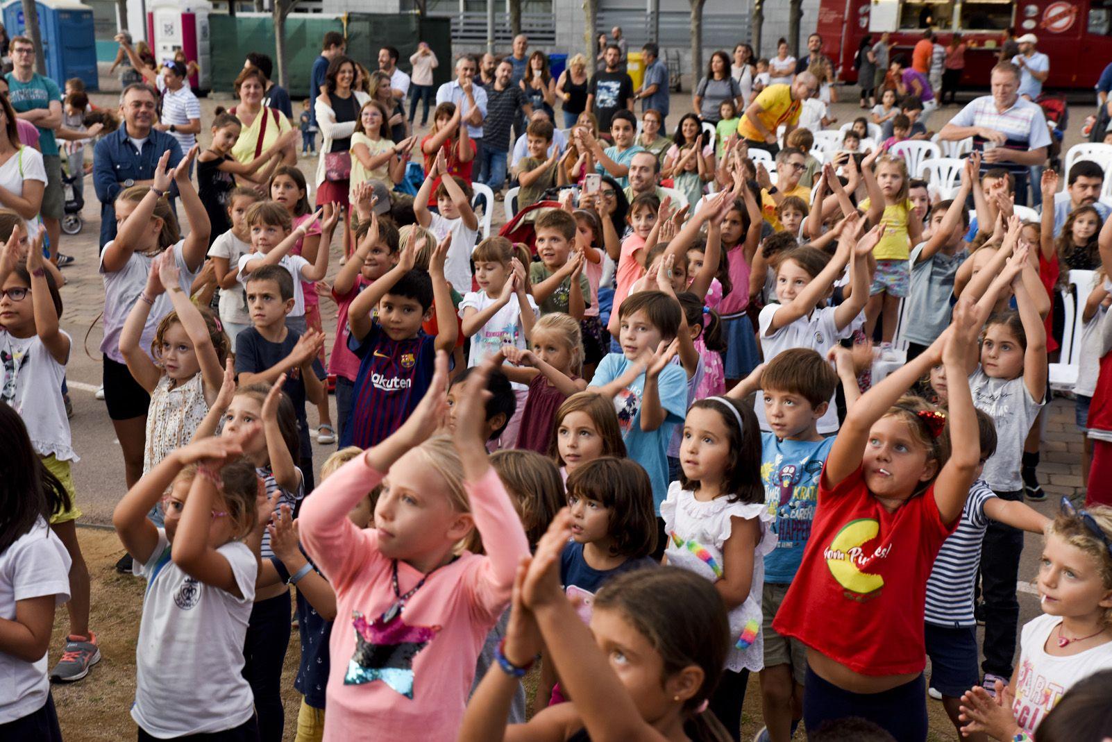 Activitats per nens i nenes de Festa Major de Volpelleres. Foto: Bernat Millet.