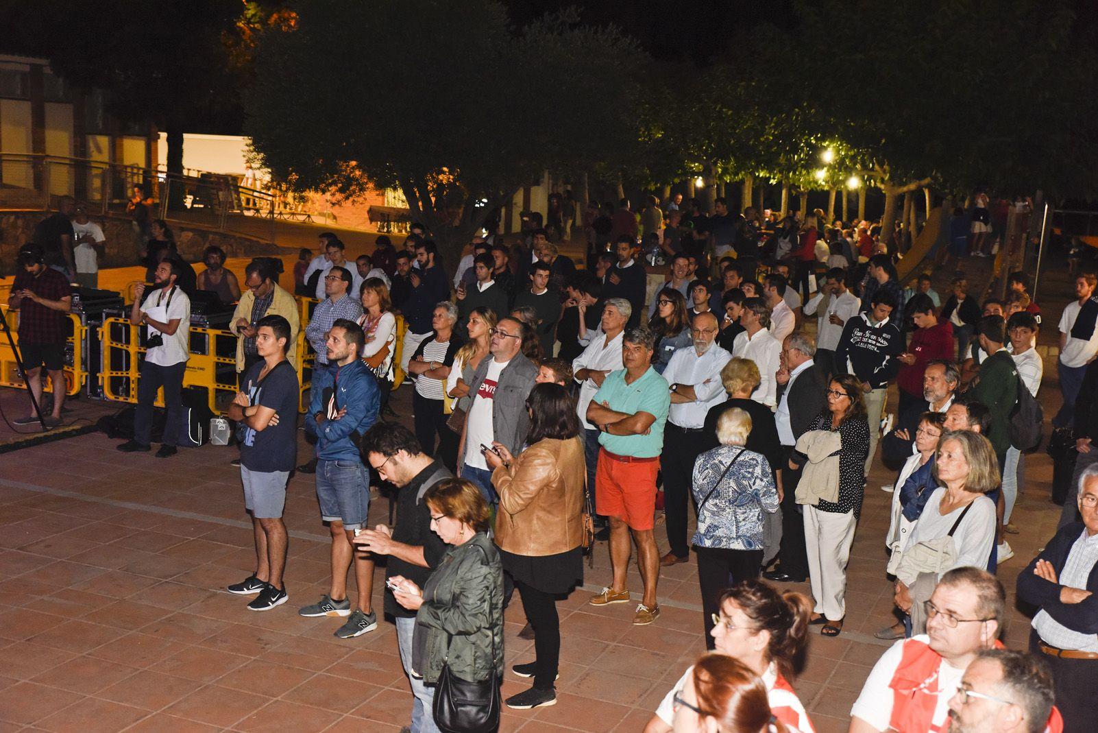 Pregò de Festa Major de Valldoreix. Foto: Bernat Millet.