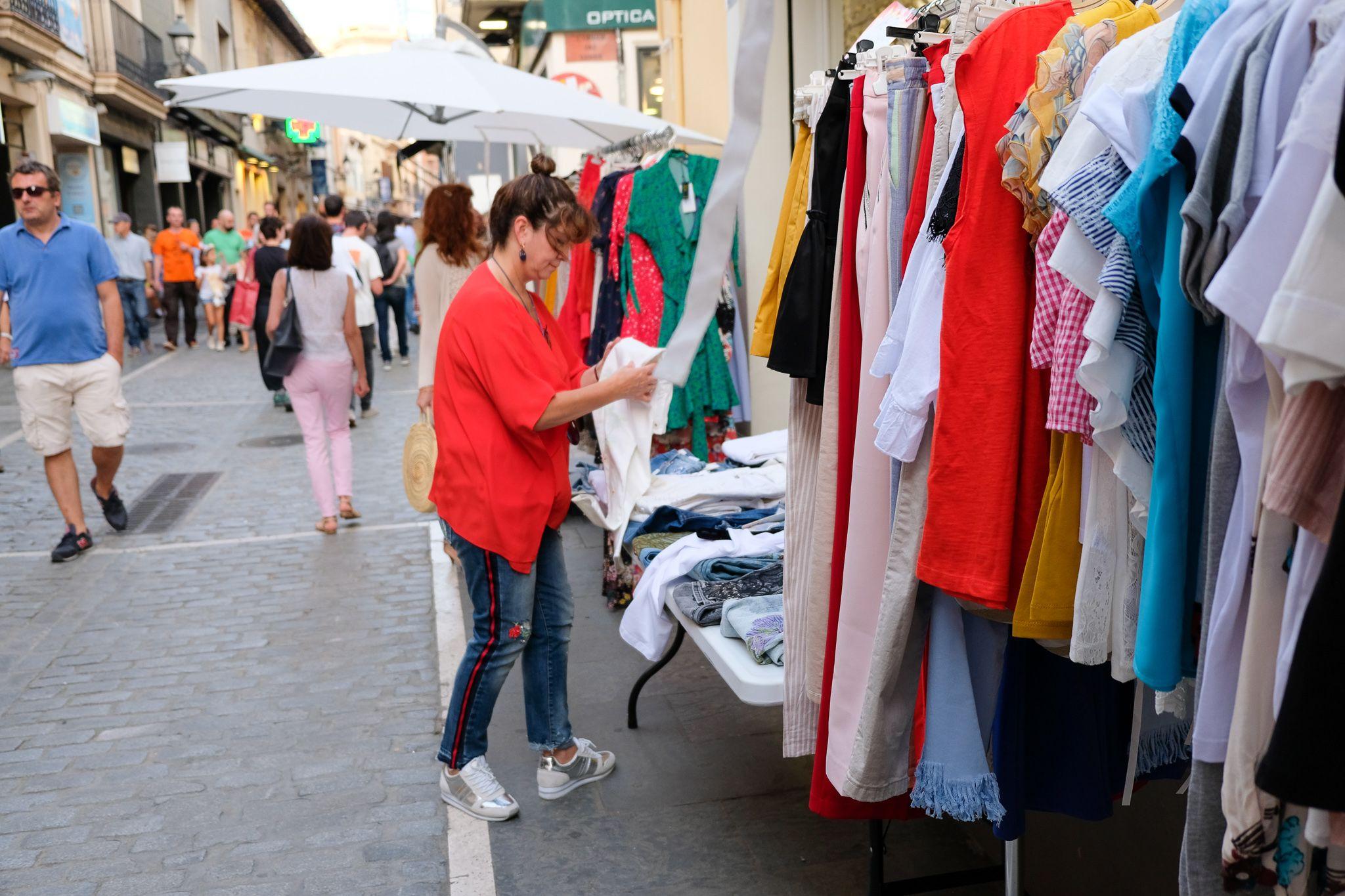 Sant Cugat acollirà una festivitat per iniciar el període de rebaixes dels comerços. FOTO: Lali Álvarez