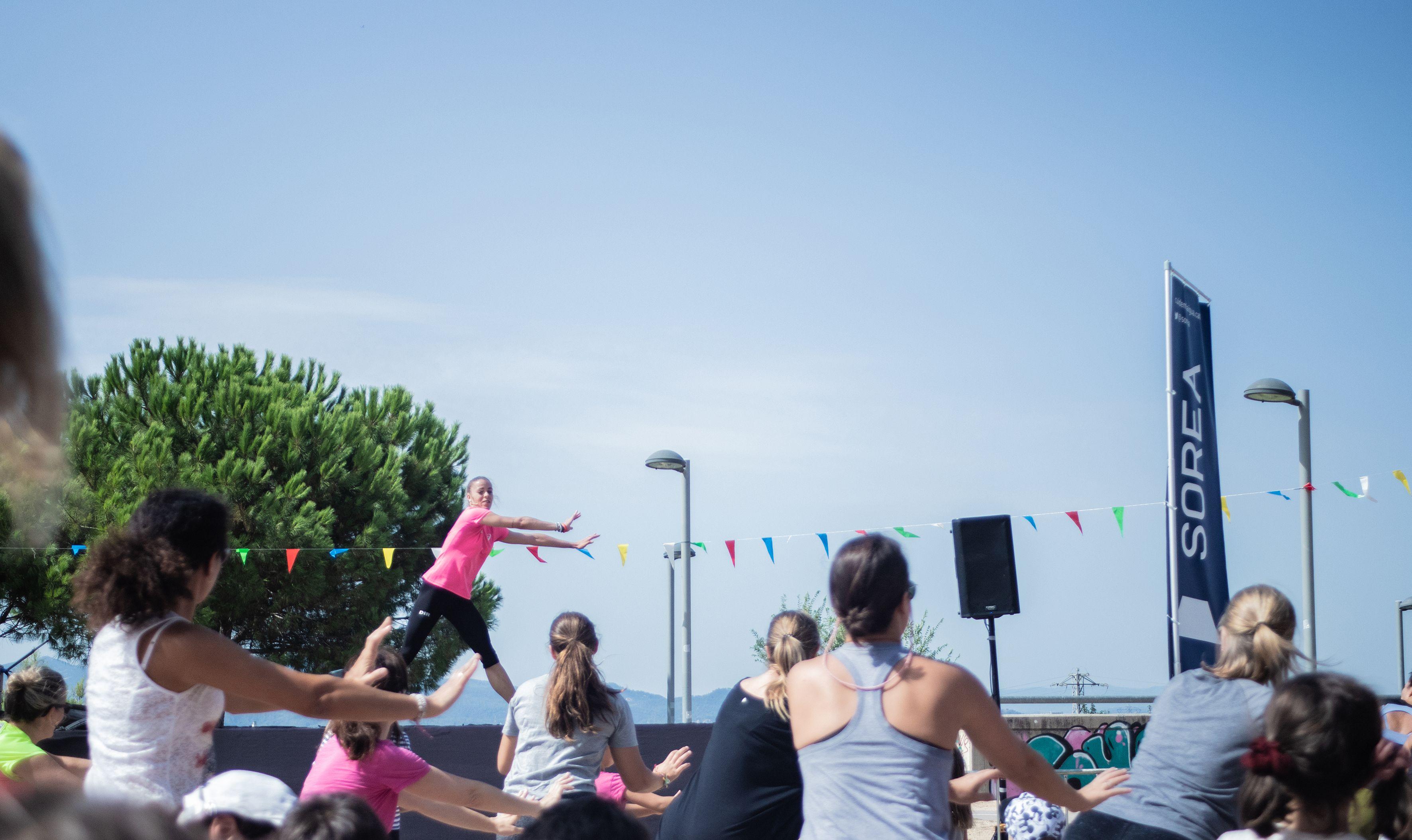 Festa Major de Volpelleres. Zumba. Foto: Adrián Gómez