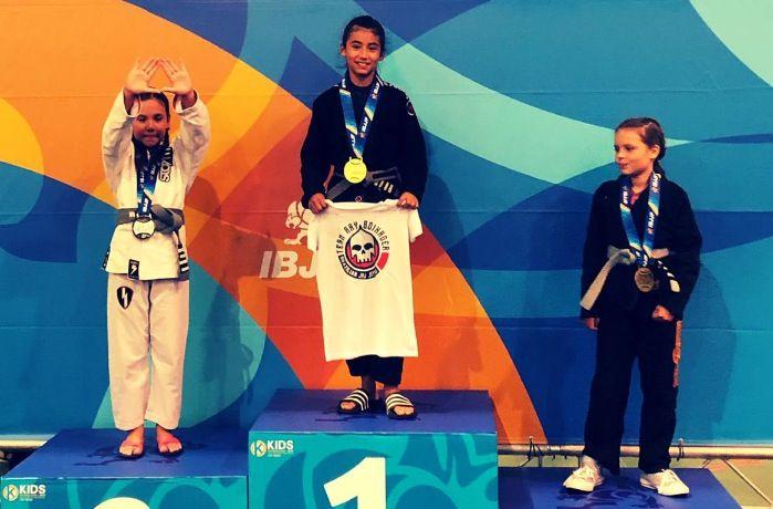 Alejandra Boixader, campiona del Kids International Jiu-Jitsu Campionship, a Las Vegas