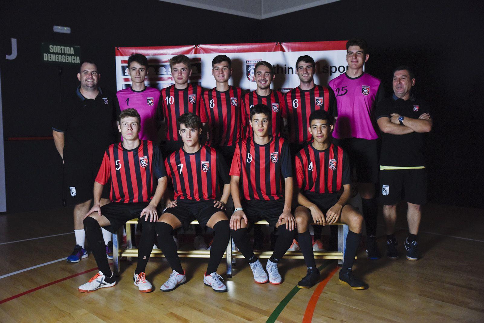 Presentació de ls equips de Futbol Sala Sant Cugat. Foto: Bernat Millet.