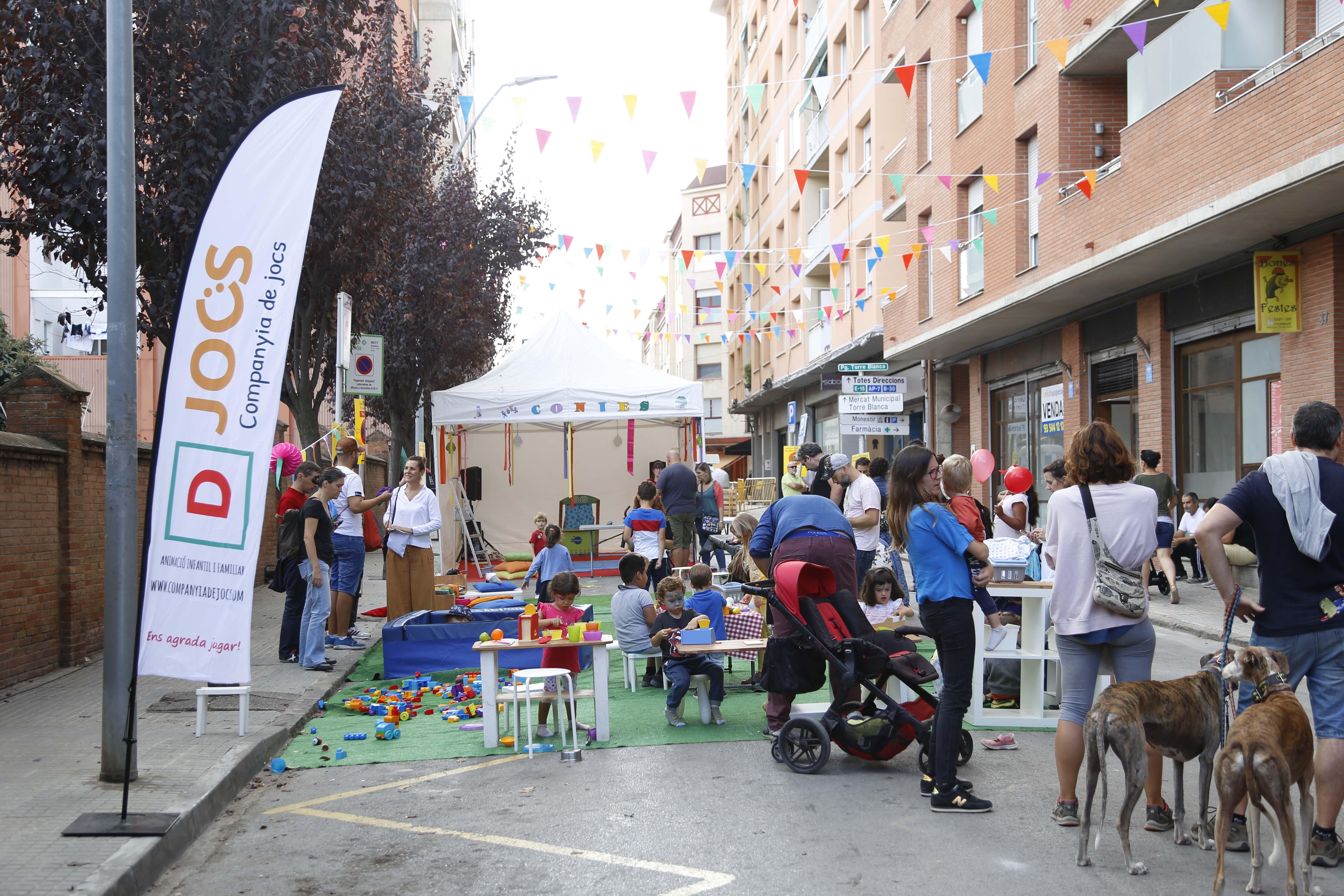 Matinal familiar per la Festa Major del barri del Monestir- Sant Francesc 2019. FOTO: Anna Bassa