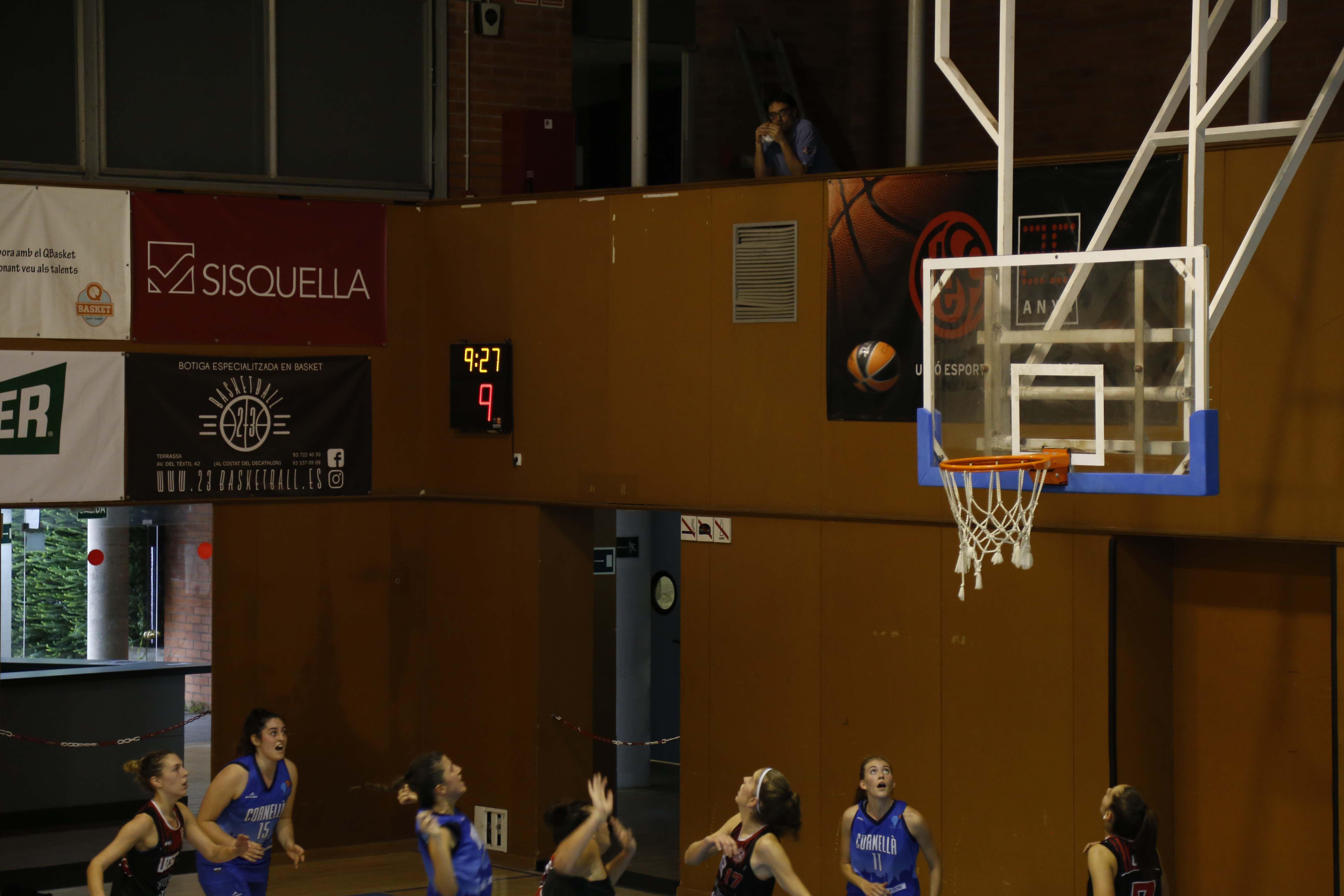 Bàsquet femení. Partit de lliga. Atlètic Junior- Cornellà. FOTO: Anna Bassa