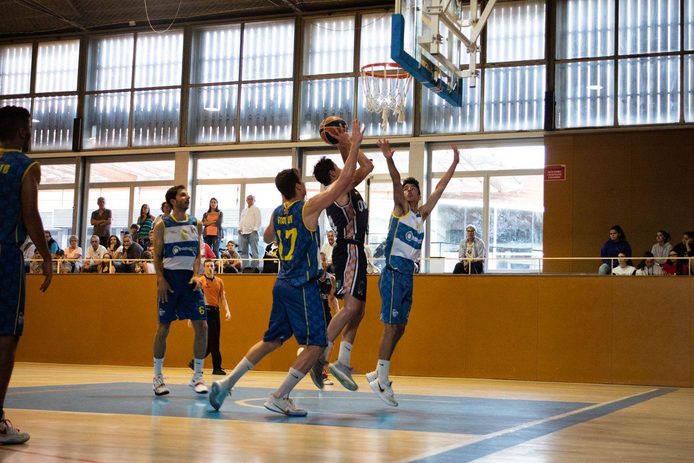 Bàsquet masculí. Partit de lliga. Qbasket - SEDI. Foto: Adrián Gómez