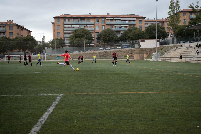 ZEM Jaume Tubau. Futbol femení. Partit de lliga. Sant Cugat FC CD - Riudoms Foto: Adrián Gómez