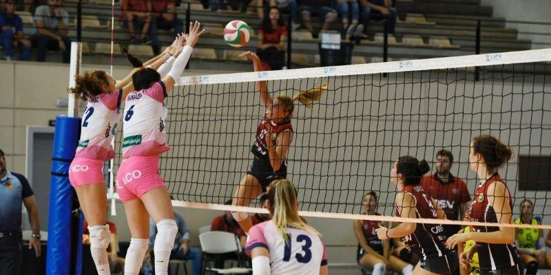 El DSV Club Voleibol Sant Cugat perd amb el CK Kiele i continua sense guanyar en la lliga