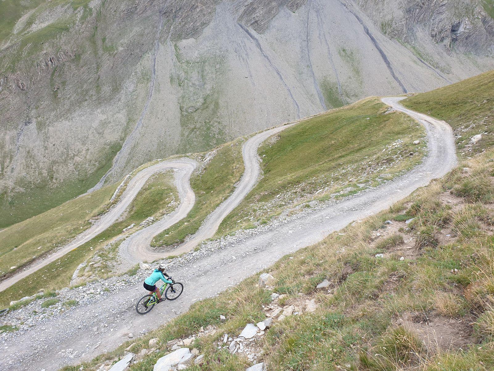 3r guanyador Jordi Laparra  Nuez   Descens sinuós del Parpaillon   Col de Parpaillon  Alps Ubaye