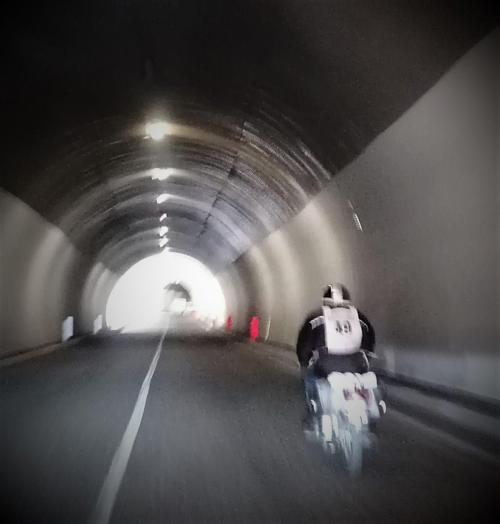 Edite Reis   En el tunel...   Montesilvano   Italia