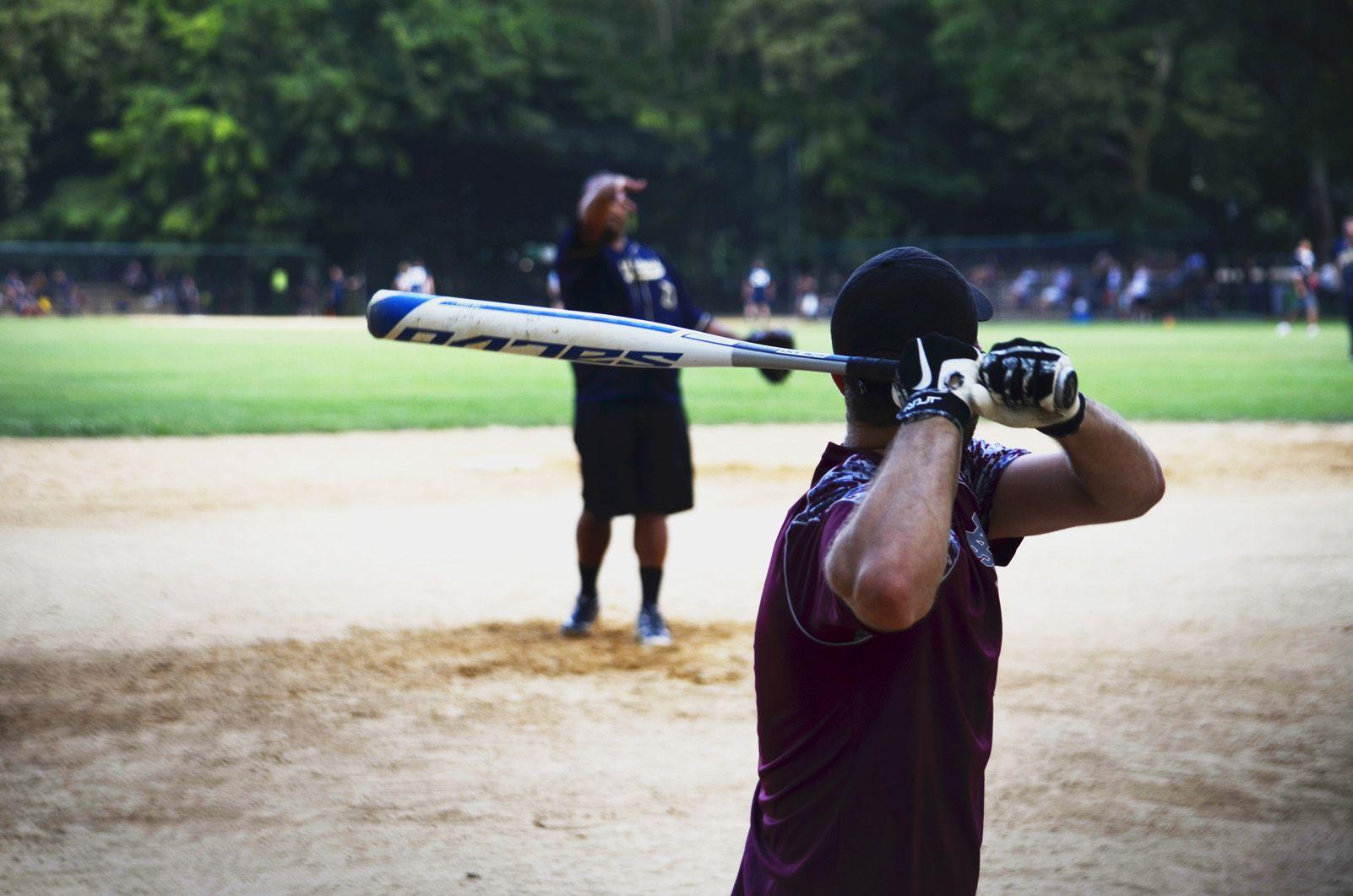 Eugenio Mondejar Cruz   Jugant a baseball   Nova York
