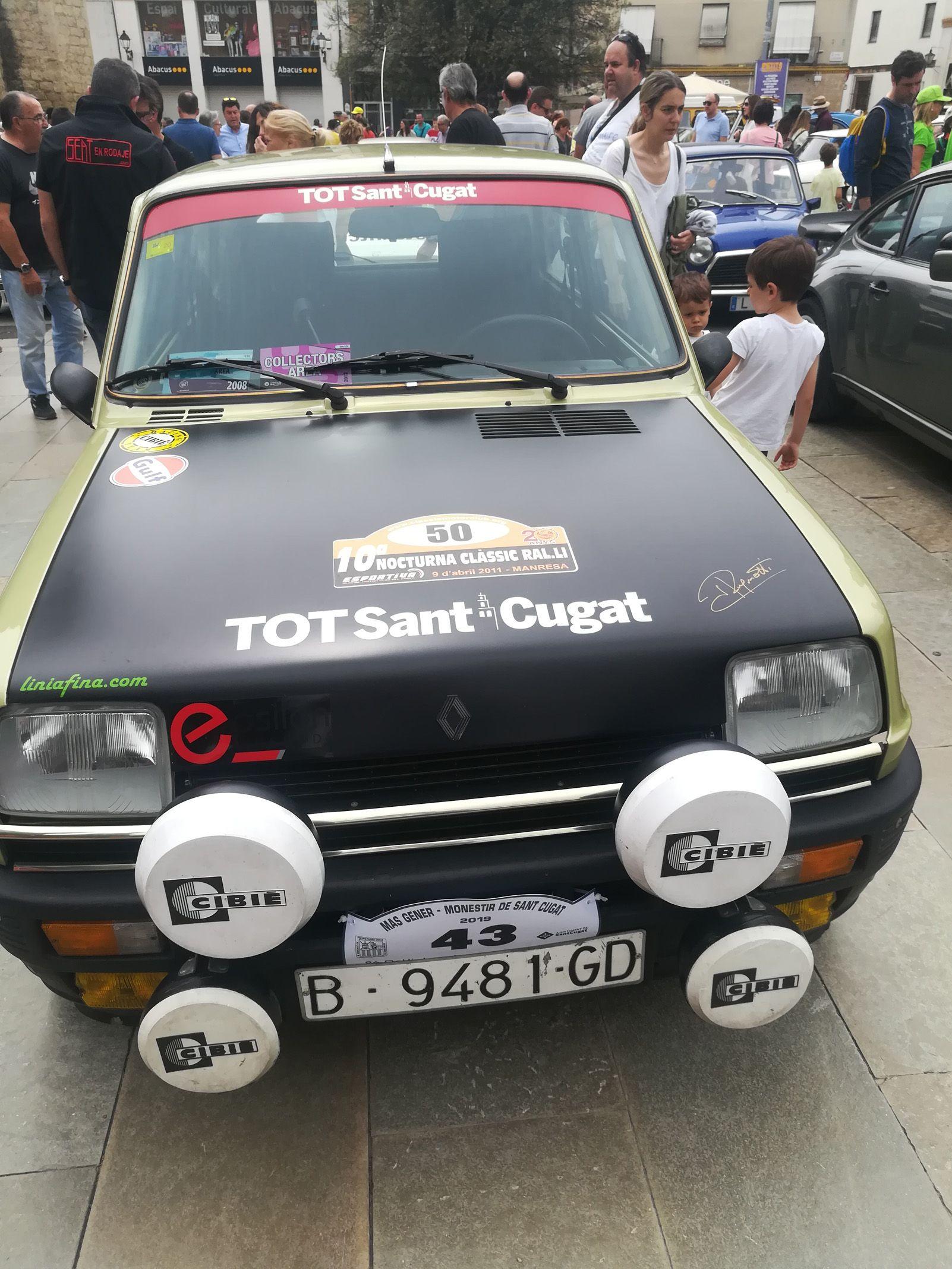 Julio Baeta   Rally Cotxes Antics de Más Gener a Pl. Octavia   Zem Pavello 1 Rambla del Celler