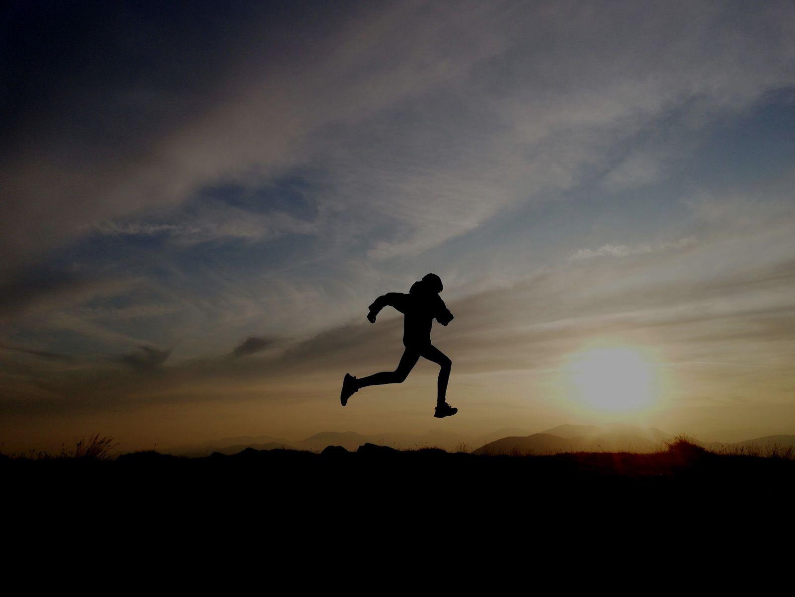 Martí Civit Marcet   l'art de córrer   cim del Taga