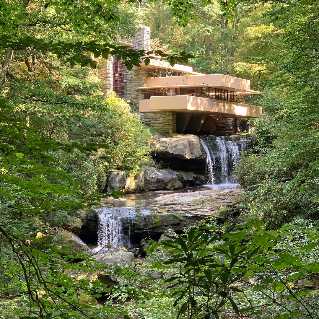 ireneplanaguell   Falling for Fallingwater House!!!