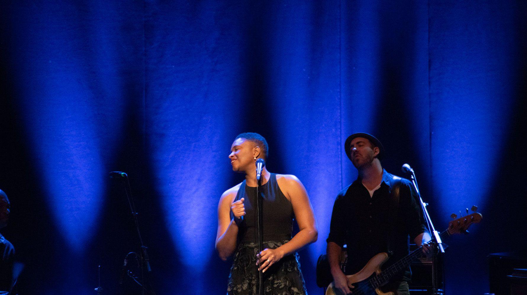Teatre auditori de Sant Cugat Concert: Lizz Wright. Foto: Adrián Gómez