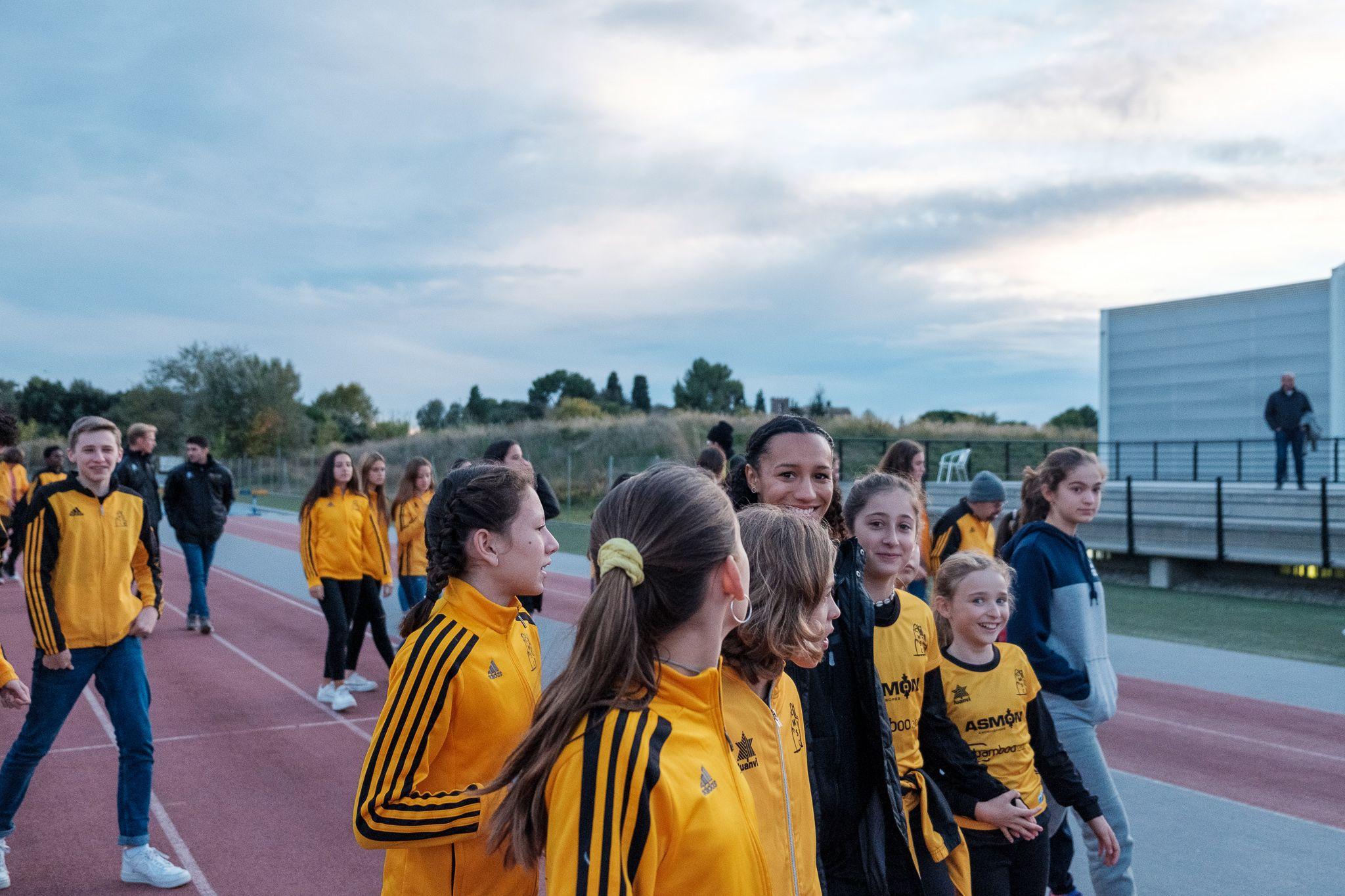 Presentació de la secció d'atletisme del Club Muntanyenc Sant Cugat. FOTO: Ale Gómez