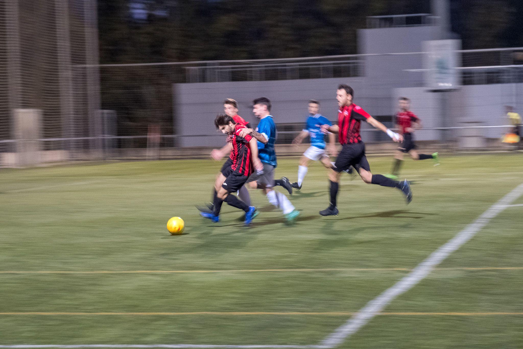 Futbol masculí. Partit de lliga. Sant Cugat FC-Espluguenc CFA. FOTO: Ale Gómez