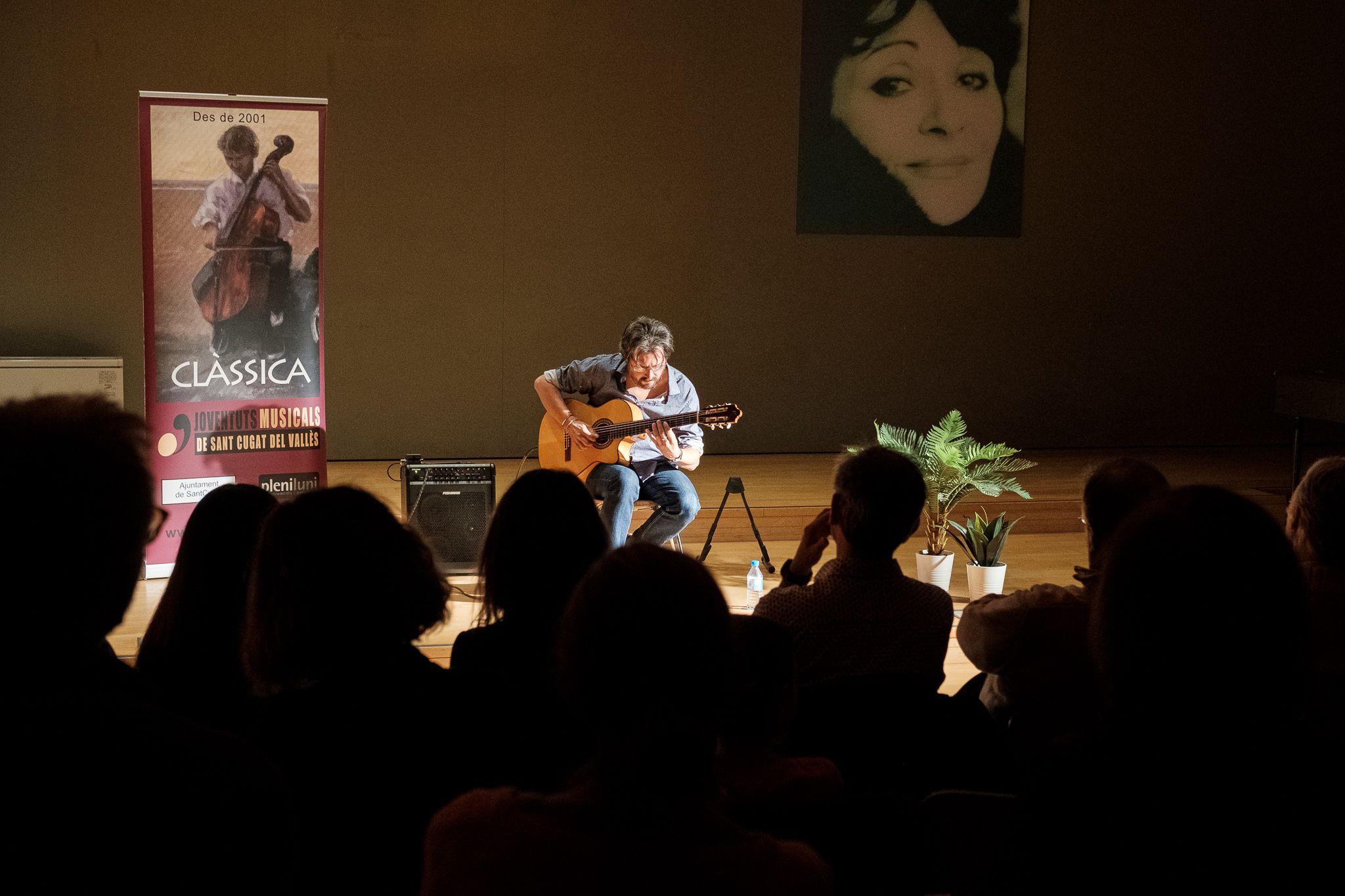 Concert d'Oriol Saltor al conservatori. FOTO: Ale Gómez