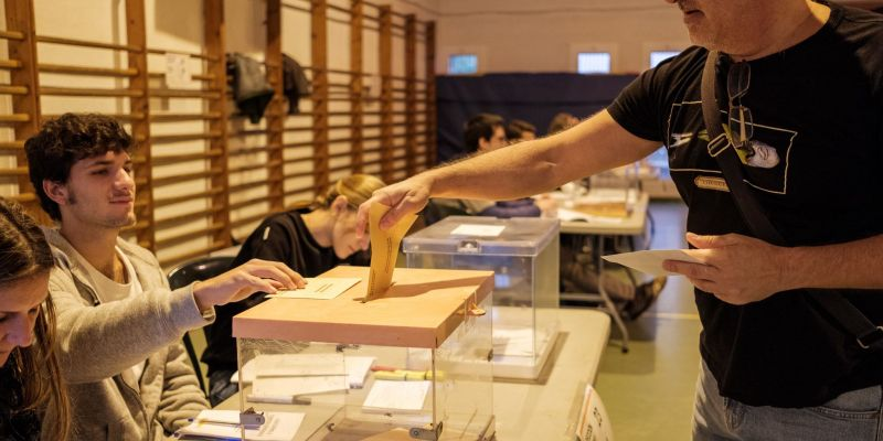 Els vots per barris a Sant Cugat