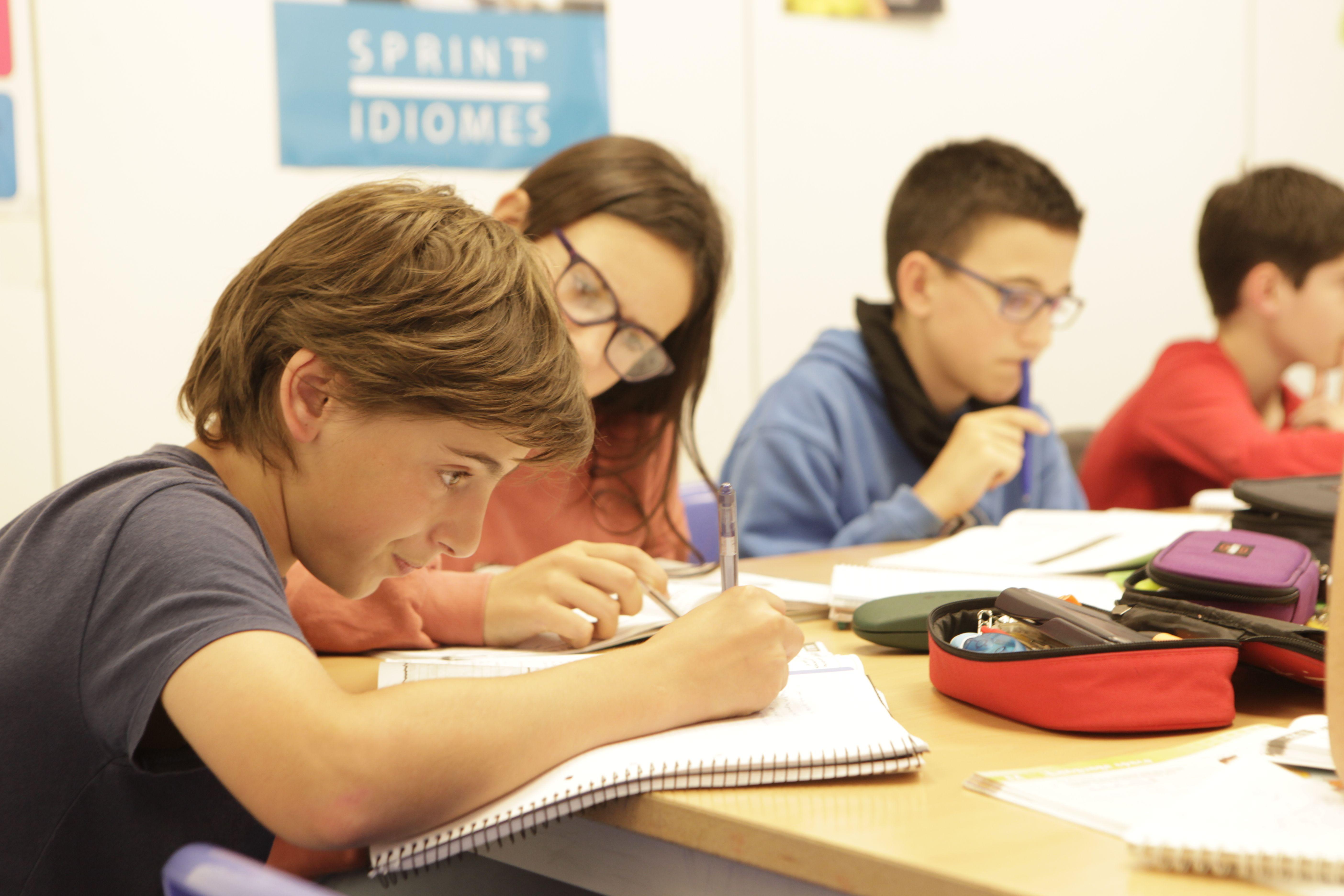 Anima't a estudiar francès a Sprint Idiomes FOTO: Bernat Millet