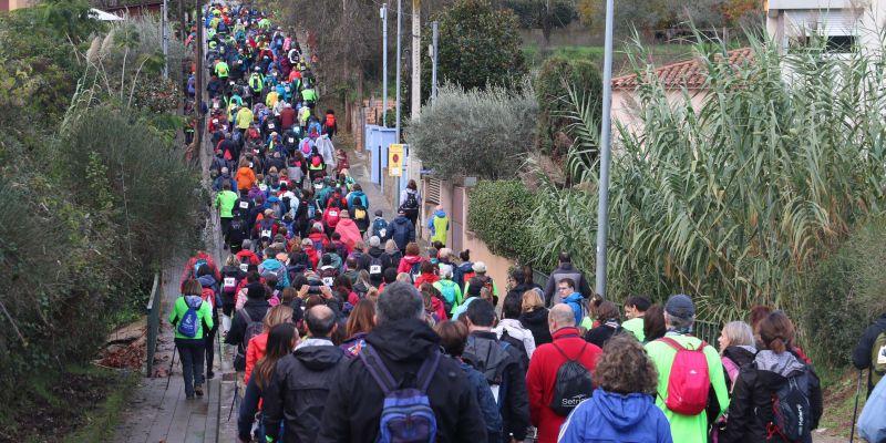 La Marxa de la Salut vol repetir els 500 participants, el màxim que permet l'organització