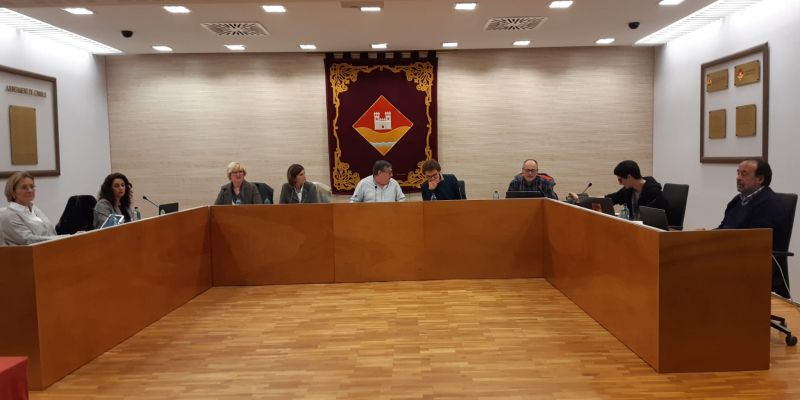 Junta de Veïns de l'EMD de Valldoreix del mes de novembre. FOTO: TOT Sant Cugat