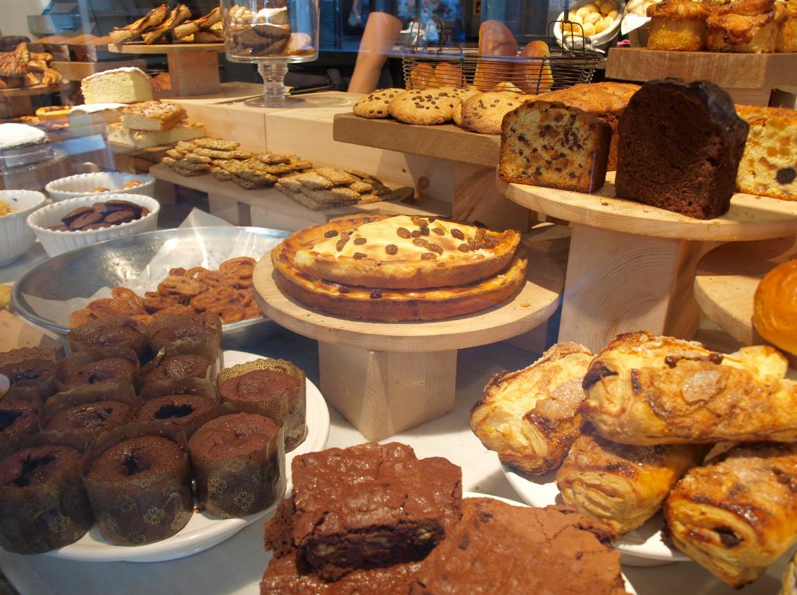 Degustació de tota mena de pastes i productes d'eleboració pròpia  FOTO: Cedida