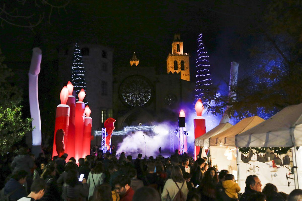 Encesa de llums de Nadal 2019. FOTO: Yves Dimant