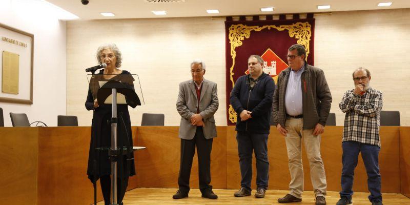 Acte de lliurament del Premi Literari de Relats Curts a Valldoreix. FOTO: Anna Bassa