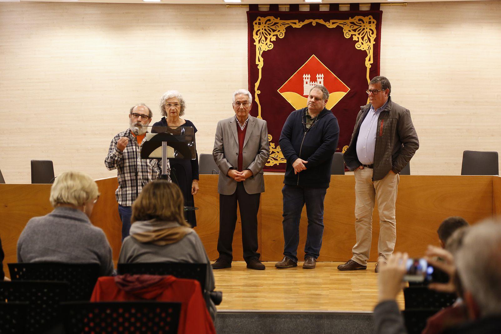 Premis literari de l'EMD. FOTO: Anna Bassa