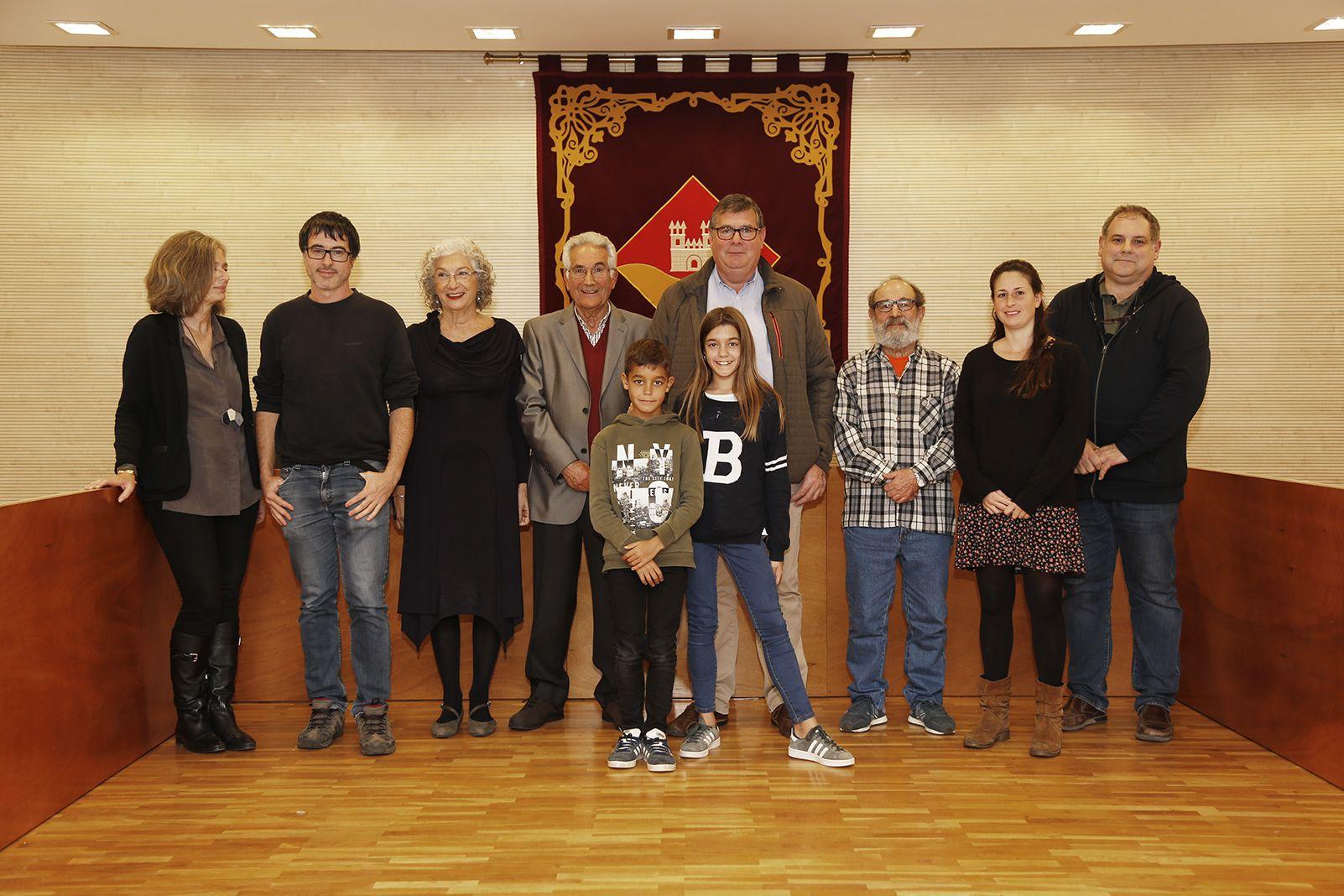 Guanyadors als premis literari de l'EMD. FOTO: Anna Bassa