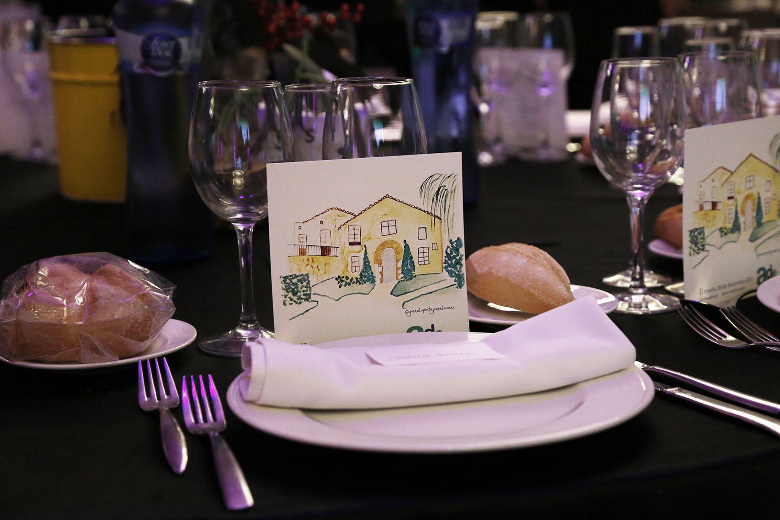 Sopar per els II liuraments de premis de l'ADE Vallès. FOTO: Anna Bassa