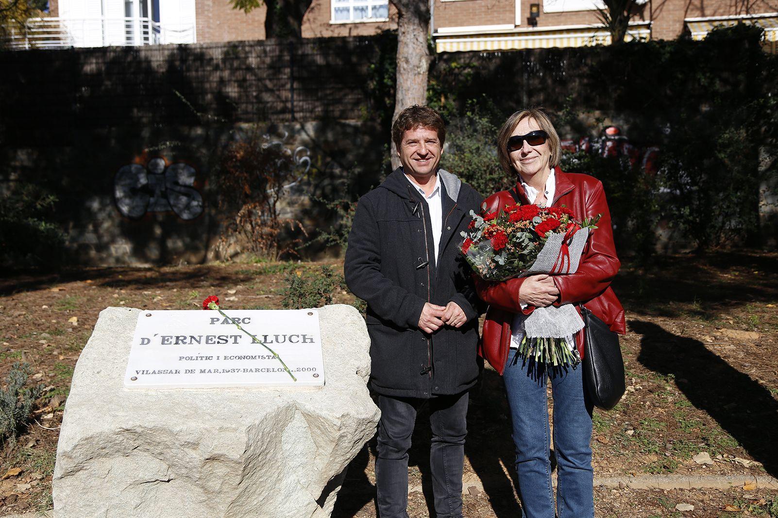 Homenatge a Ernest Lluch. FOTO: Anna Bassa