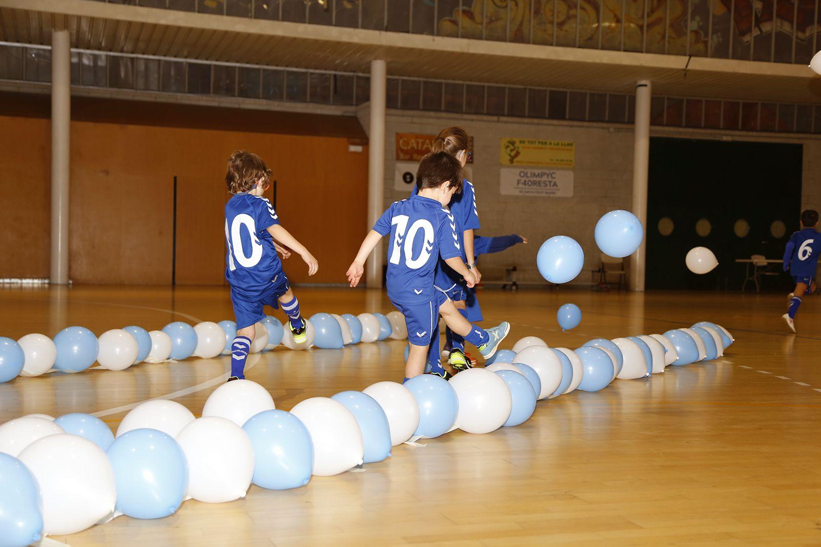 Presentació d'equips del futbol sala Olimpyc la Floresta  2019. FOTO: Anna Bassa