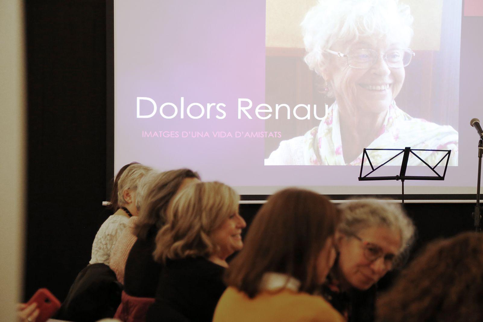 Homenatge a Dolors Renau. FOTO: Anna Bassa