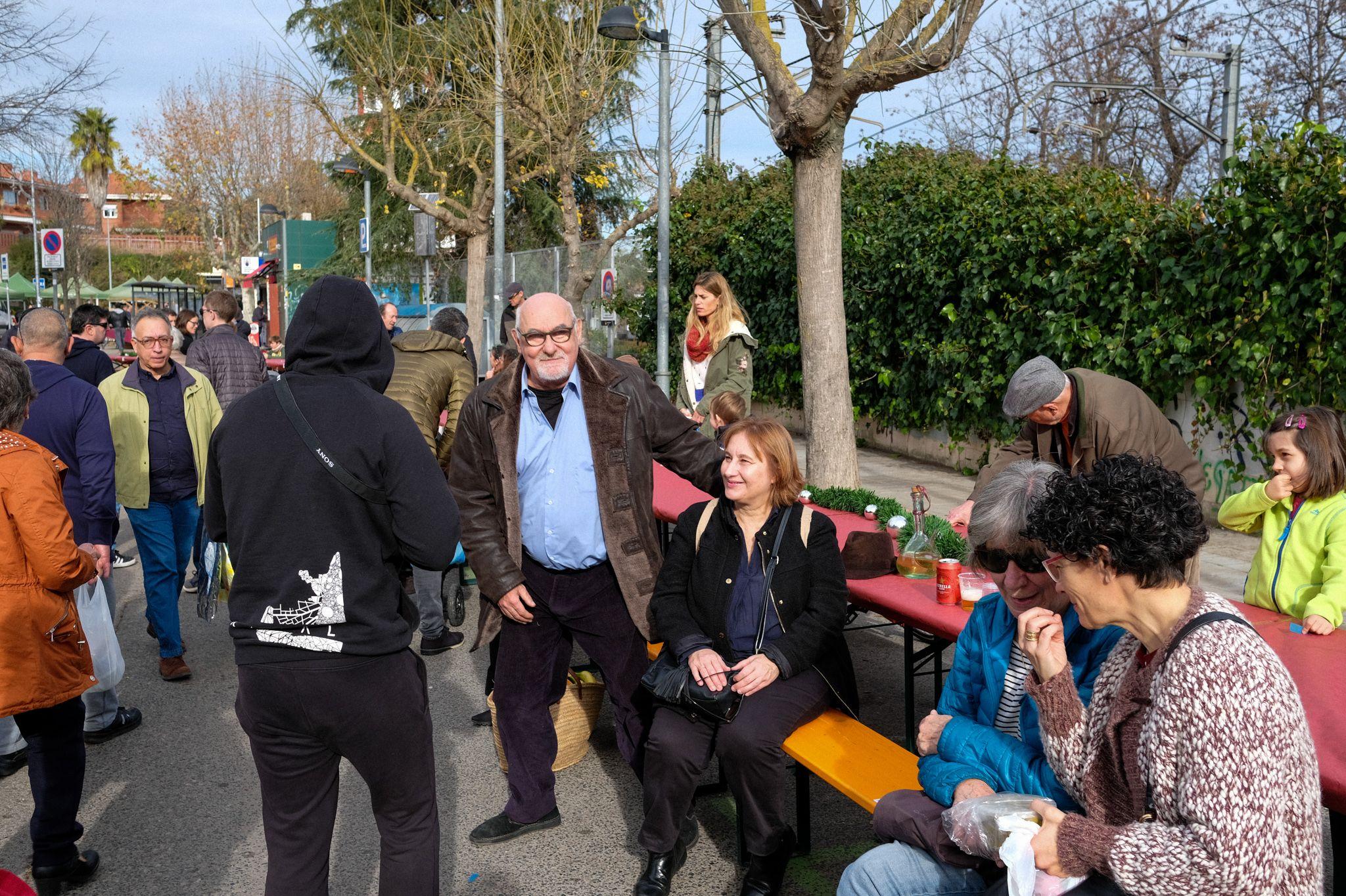 Escudella popular al mercat de Valldoreix. FOTO: Ale Gómez
