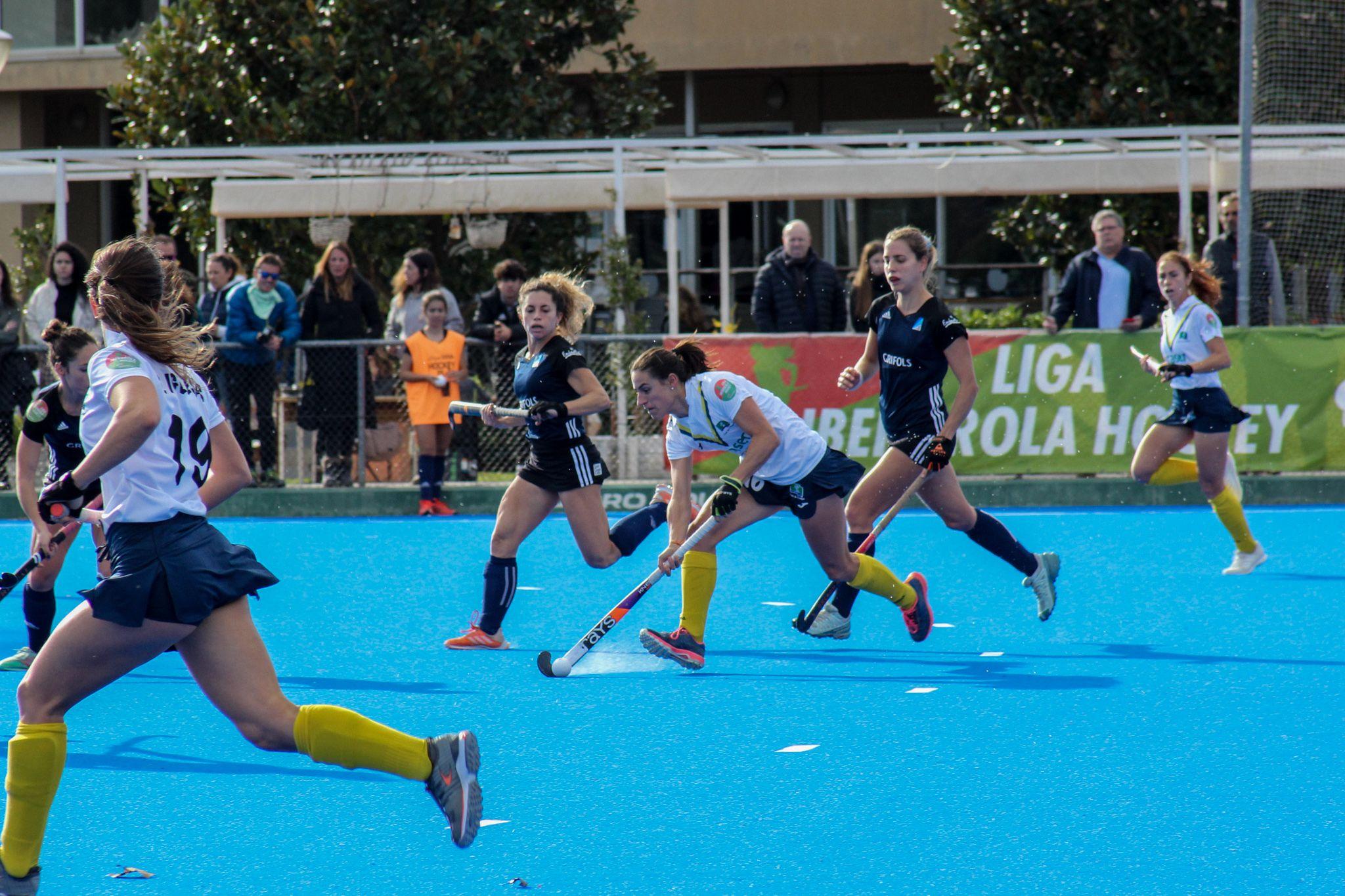 Lliga de hoquei sobre herba femení: Junior FC-Club de Campo. FOTO: Ale Gómez