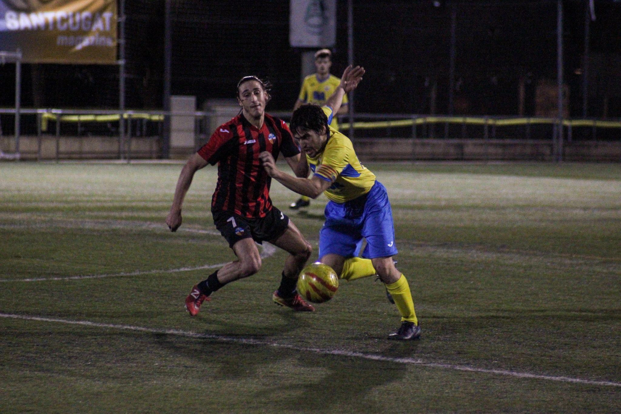 Lliga futbol masculí. Sant Cugat FC-UD San Mauro. FOTO: Ale Gómez
