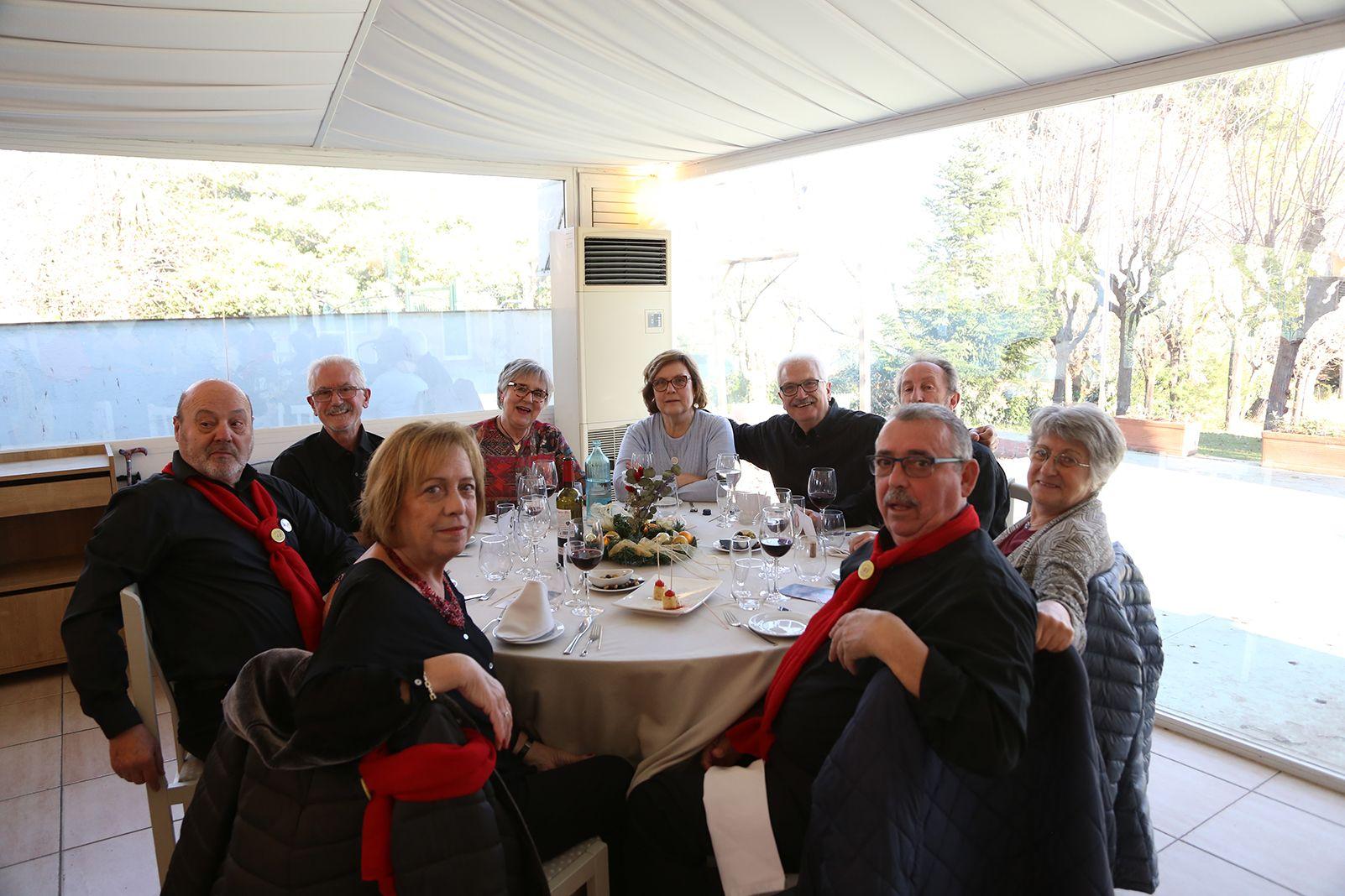 Dinar de Nadal Amics de la Gent Gran. FOTO: Anna Bassa