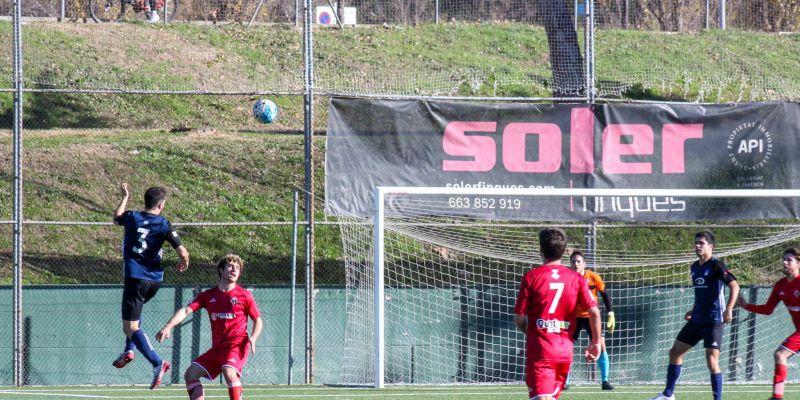 L'Atlètic Junior goleja l'Olivella per 5 a 1 i torna a guanyar quatre jornades després