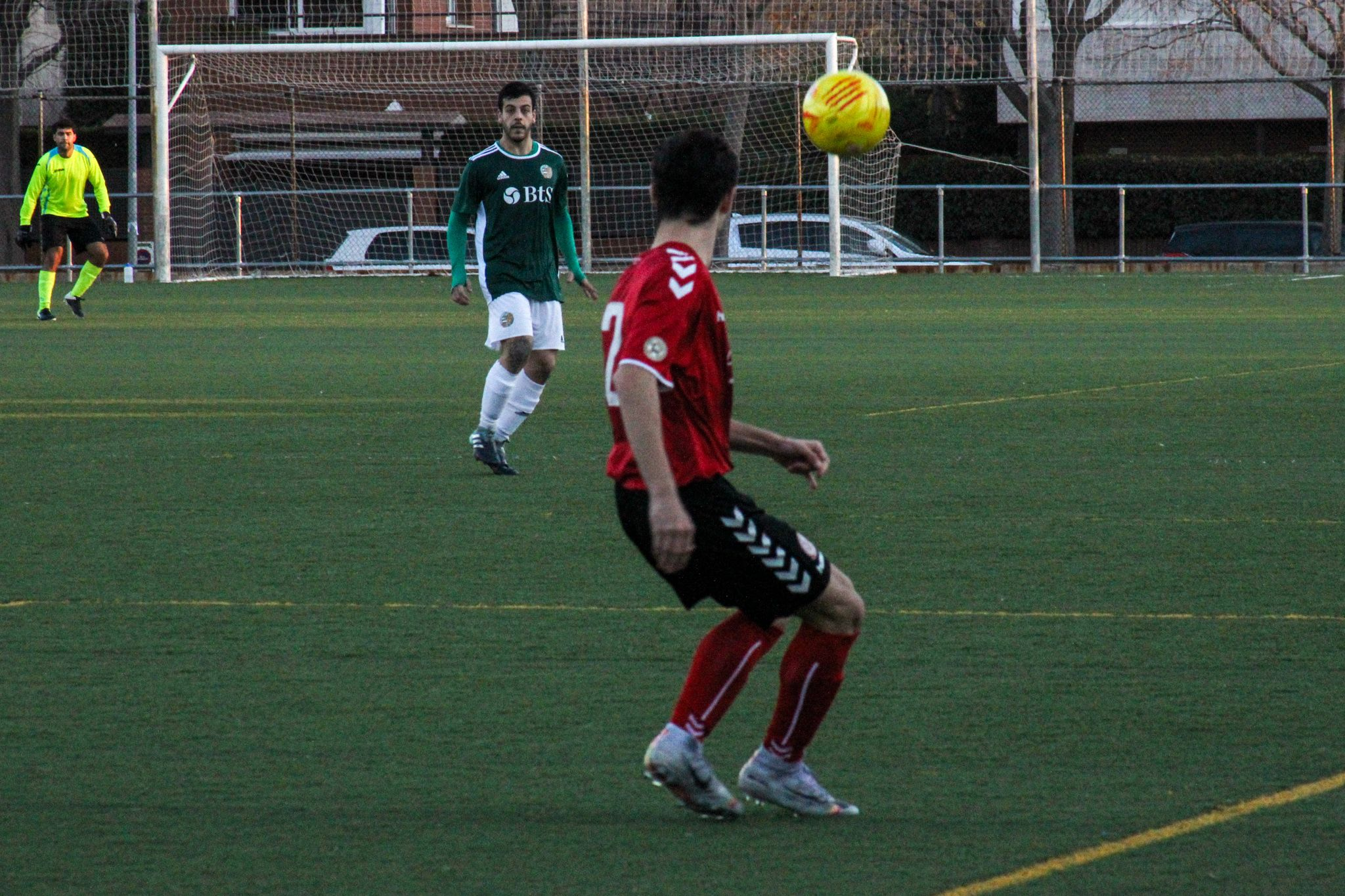 Lliga futbol masculí. Valldoreix FC-UD Marianao Poblet. FOTO: Ale Gómez