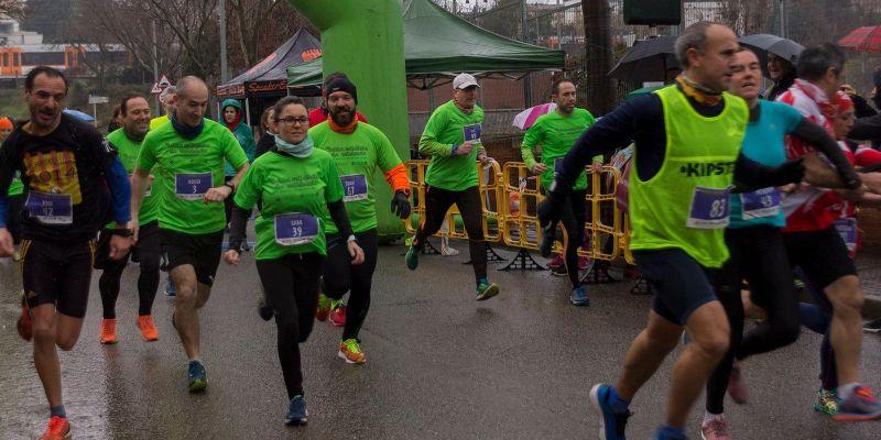 La Milla Solidària de Valldoreix bat rècords de participació en una quarta edició amb gairebé 400 atletes