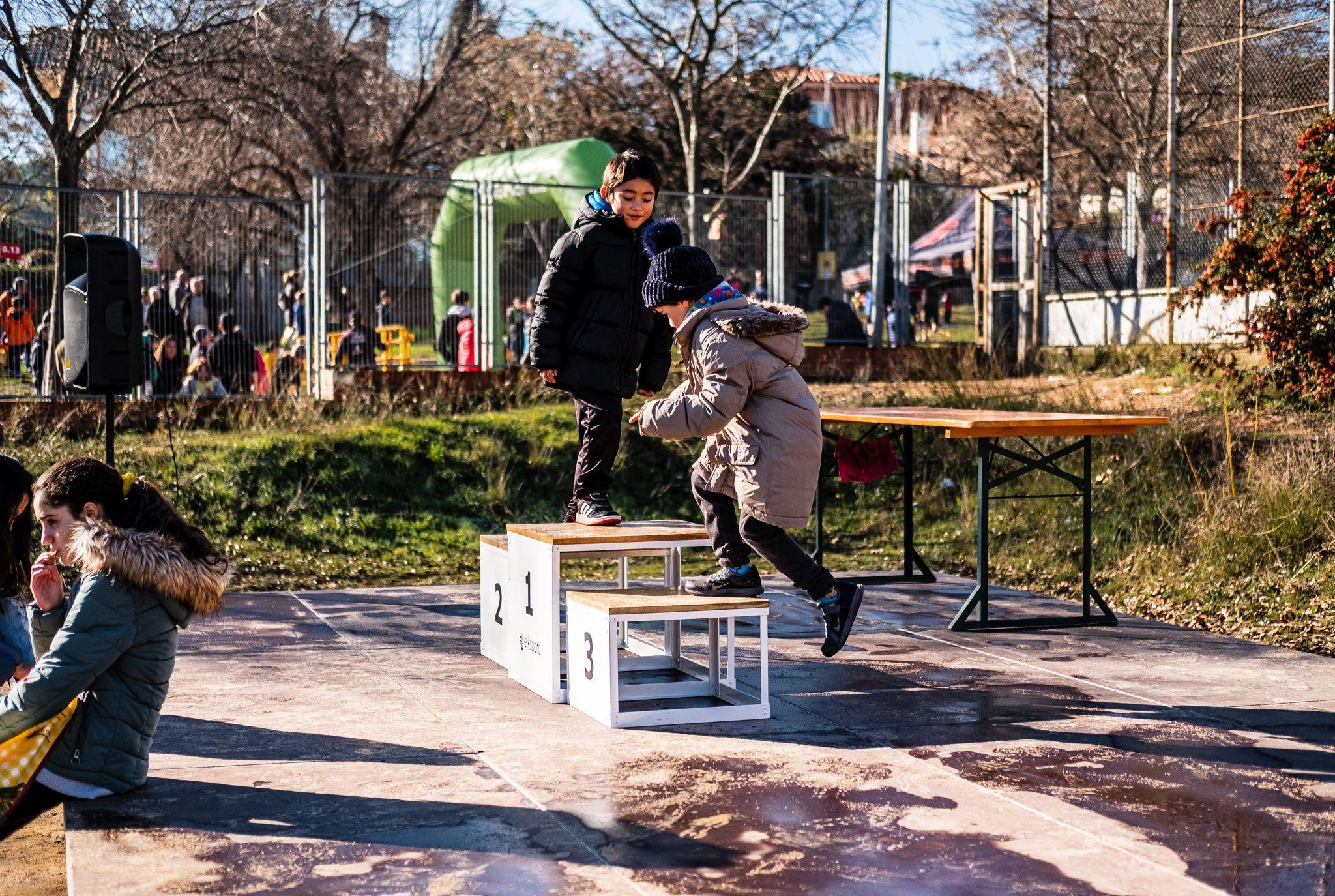 Celebració de la 4a Cursa Solidària de Valldoreix. FOTO: Ale Gómez