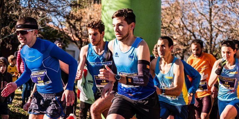 Ivan Escudero Sánchez guanyador de la 4a Milla Solidària de Valldoreix en categoria masculina. FOTO: Ale Gómez.