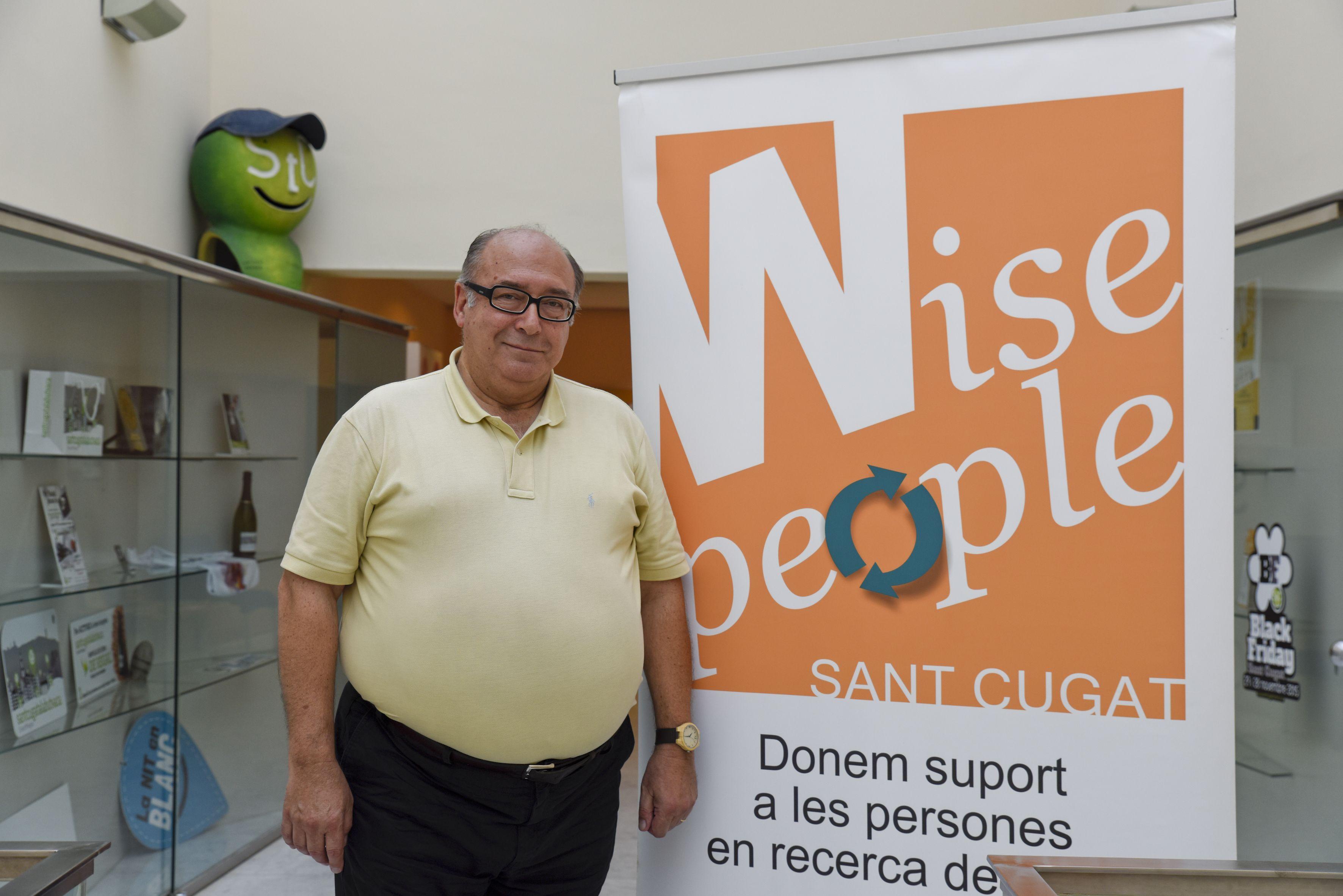 Joan Bigorra, president de Wise People Sant Cugat FOTO: Bernat Millet