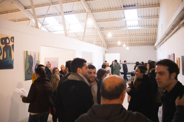 Inauguració d'exposició: 'Vísteme', de Víctor Roig i Aaron Vico al Mercantic. Foto: Adrián Gómez.
