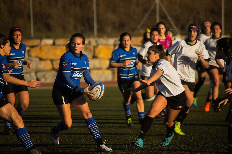 ZEM La Guinardera. Rugbi femení. Partit de lliga. CR Sant Cugat-BUC Barcelona. Foto: Adrián Gómez