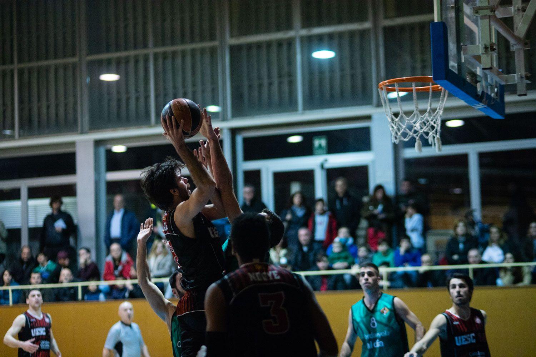 Bàsquet masculí. Partit de lliga. UE Sant Cugat-CB Cerdanyola. Foto: Adrián Gómez