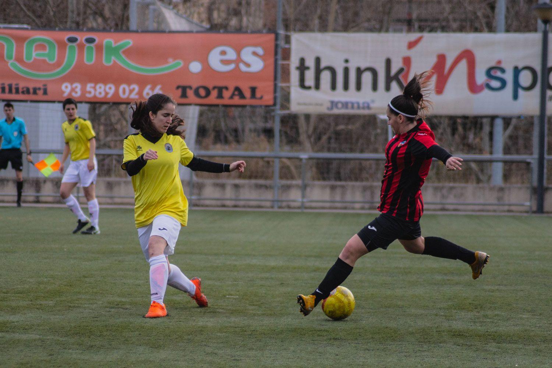 ZEM Jaume Tubau. Futbol femení. Partit de lliga. Sant Cugat FC-UE Porqueres. Foto: Adrián Gómez